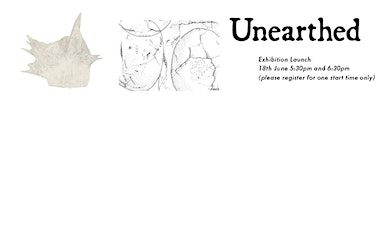 'Unearthed': Art in Archaeology and Anthropology Exhibition Launch tickets