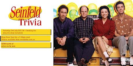 Seinfeld Trivia & Dinner Night! tickets