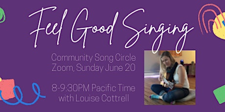 Summer Solstice Sing-Along with Louise Cottrell tickets