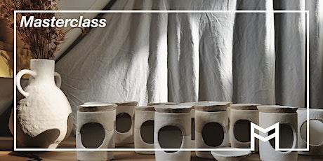 Masterclass: Build your own ceramic oil burner with Ari Menendez this SALA tickets