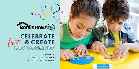 FREE Kids Celebrate & Create Workshop PENRITH tickets