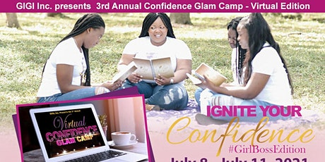 Confidence Glam Camp 2021 tickets