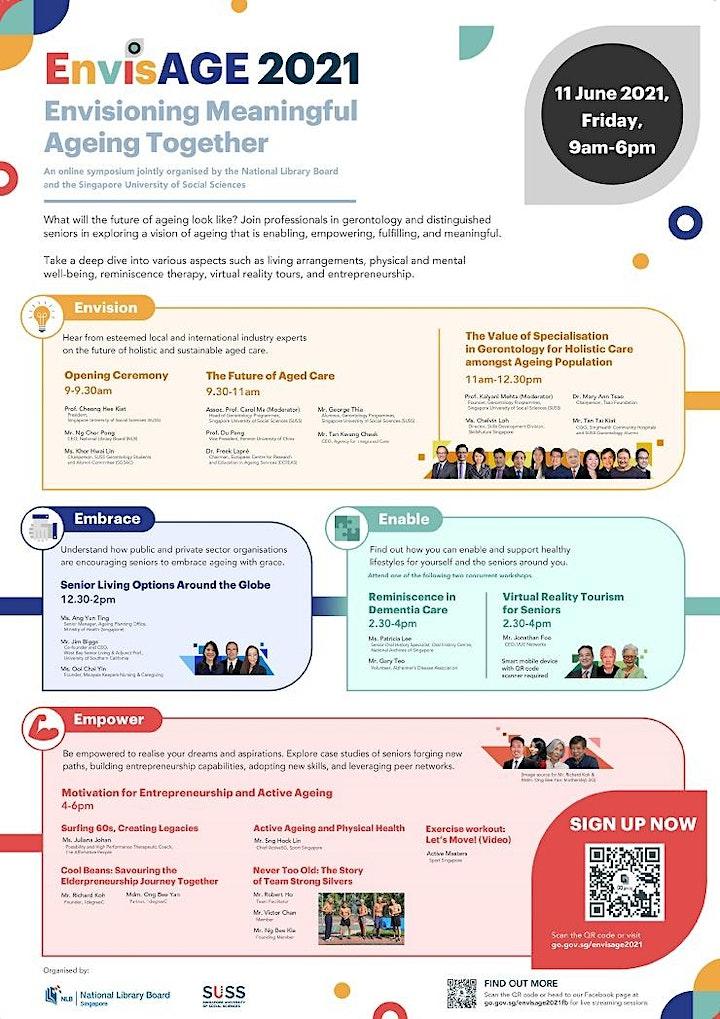 EnvisAGE 2021: Motivation for Entrepreneurship and Active Ageing | TOYL image