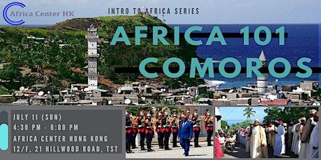 Africa 101 | Comoros tickets