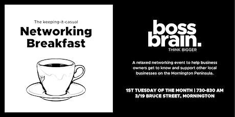 Networking Breakfast - Mornington tickets