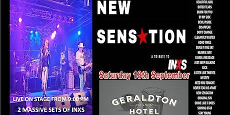 New Sensation - Live @ The Geraldton Hotel tickets