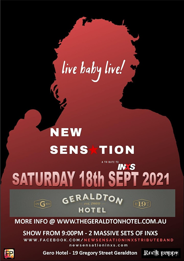New Sensation - Live @ The Geraldton Hotel image