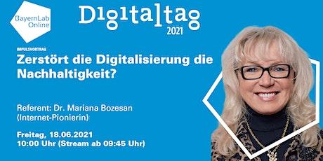 """Impulsvortrag – """"Zerstört die Digitalisierung die Nachhaltigkeit?"""" Tickets"""