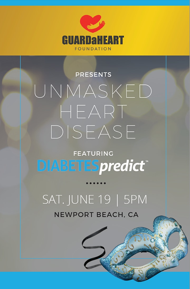 UNMASKED HEART DISEASE featuring  DIABETESpredict image