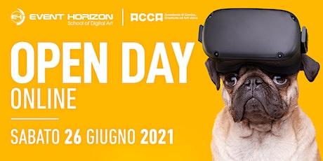 Open Day Online - Event Horizon in collaborazione con ACCA Academy biglietti