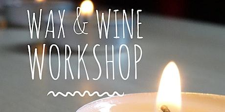 Wax and Wine Workshop tickets