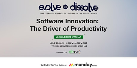 Software Innovation: The Driver of Productivity tickets