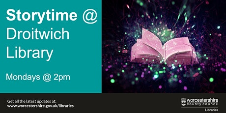 Storytime at Droitwich Library tickets