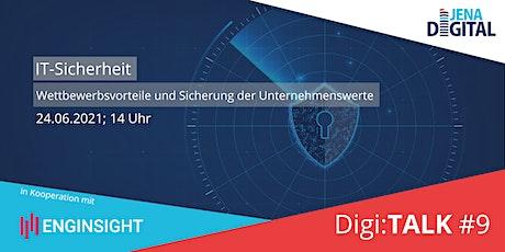 Digi.TALK #9: IT-Sicherheit Tickets