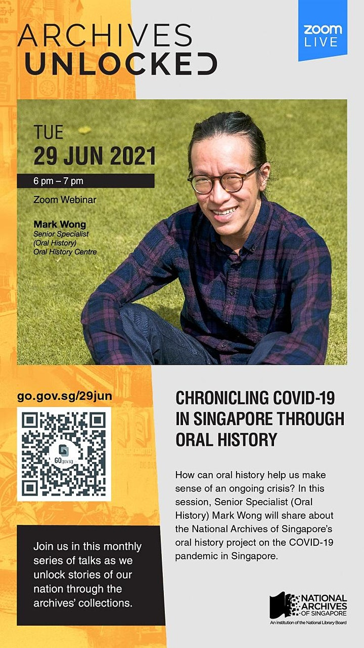 Archives Unlocked: Chronicling COVID-19 in Singapore through Oral History image