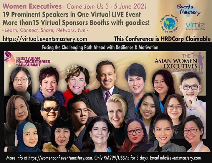 The 1st Virtual LIVE Women Executives Conference image