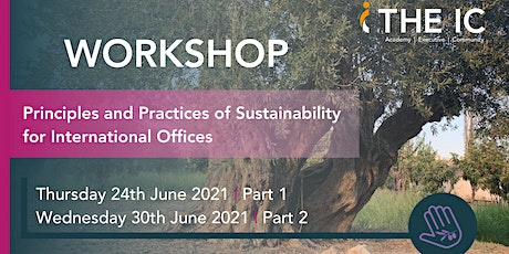 Principles and Practices of Sustainability for International Offices tickets