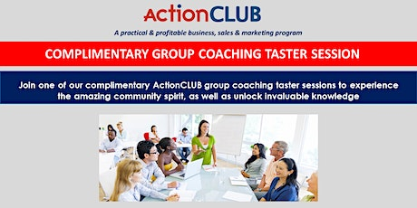 Action Club Taster Session tickets