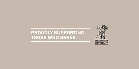 West Yorkshire Armed Forces Covenant Webinar tickets