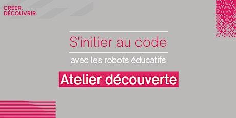 S'initier au code avec les robots éducatifs billets