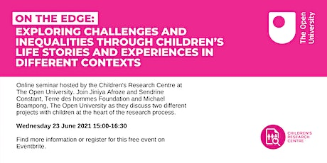 On the edge: Exploring challenges and inequalities through children's life tickets