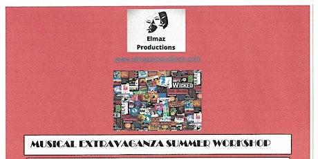 Musical Extravaganza Summer Workshop ages 6-16 tickets