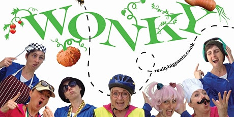Wonky: online theatre performance + free poetry book tickets