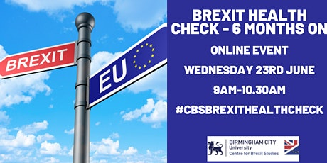 Brexit Health Check - 6 Months On tickets