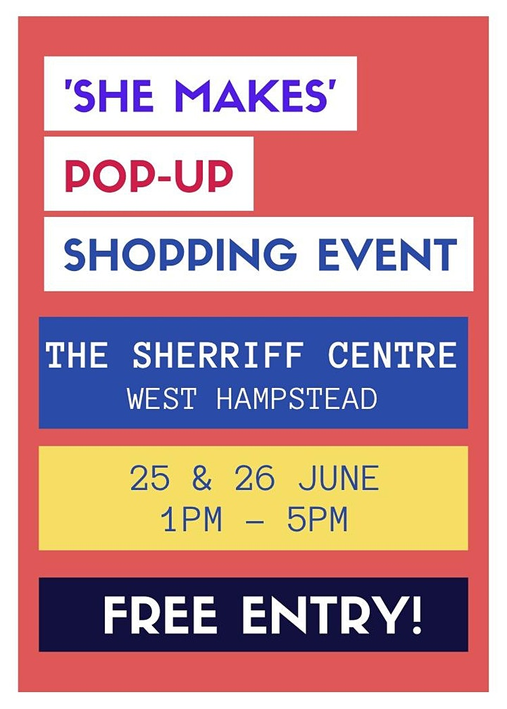 She Makes Pop-Up Shopping Event image
