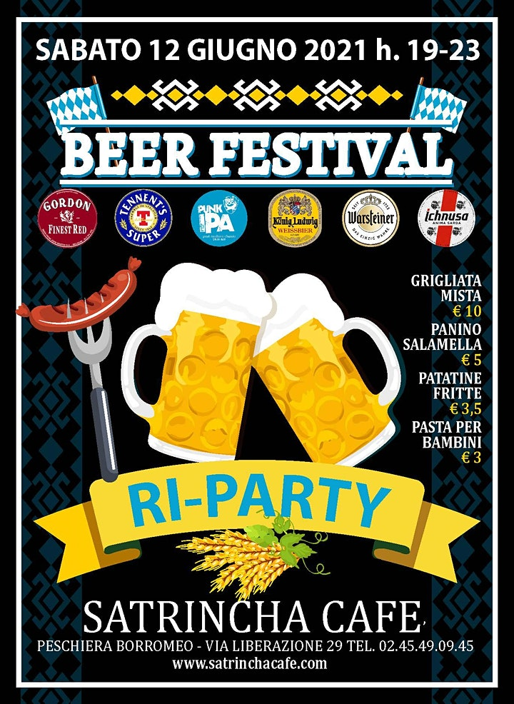Immagine BEER FESTIVAL RI-PARTY