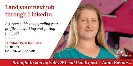 Land your next job through LinkedIn tickets