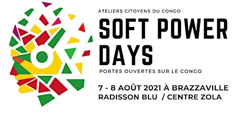 Soft Power Days - Congo-Brazzaville (Jour 1) billets