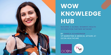 WoW Knowledge Hub - Building a Global Women's Health Distribution Network tickets