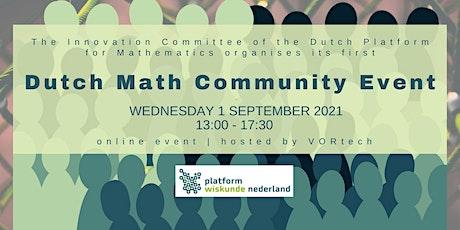 Dutch Math Community Event tickets