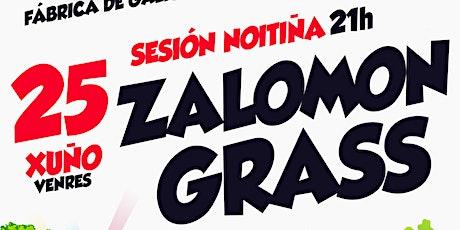 Zalomon Grass no Rock Artesán do Río Tea entradas