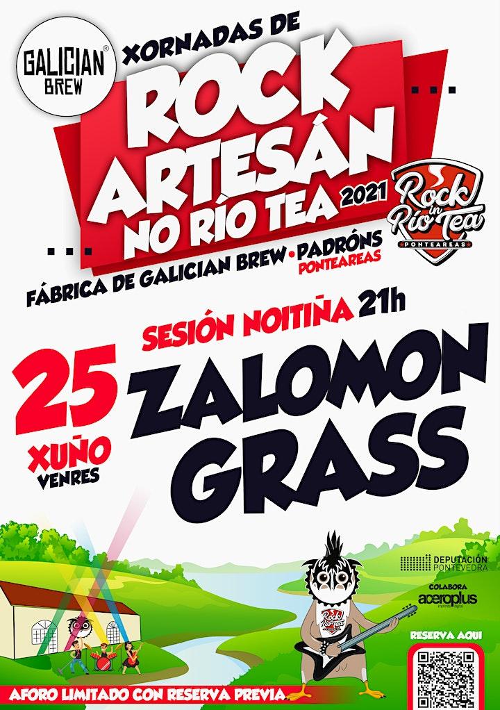 Imagen de Zalomon Grass no Rock Artesán do Río Tea