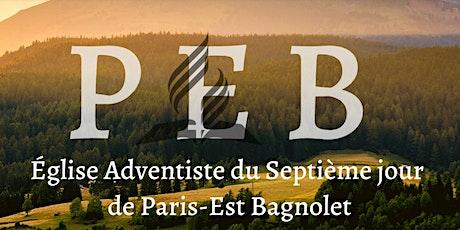 EDS/Culte de l'église de Paris-Est-Bagnolet billets