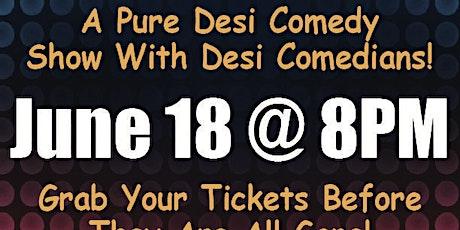 Chalo Haso Desi Comedy Showcase tickets