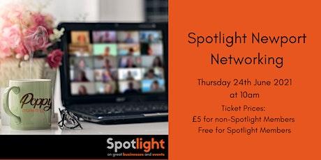 Poppy Marketing presents Spotlight Newport Networking – Thursday 24th June tickets