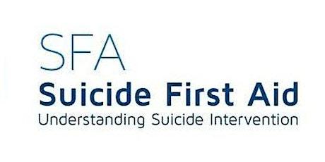 Suicide First Aid: Understanding Suicide Intervention tickets
