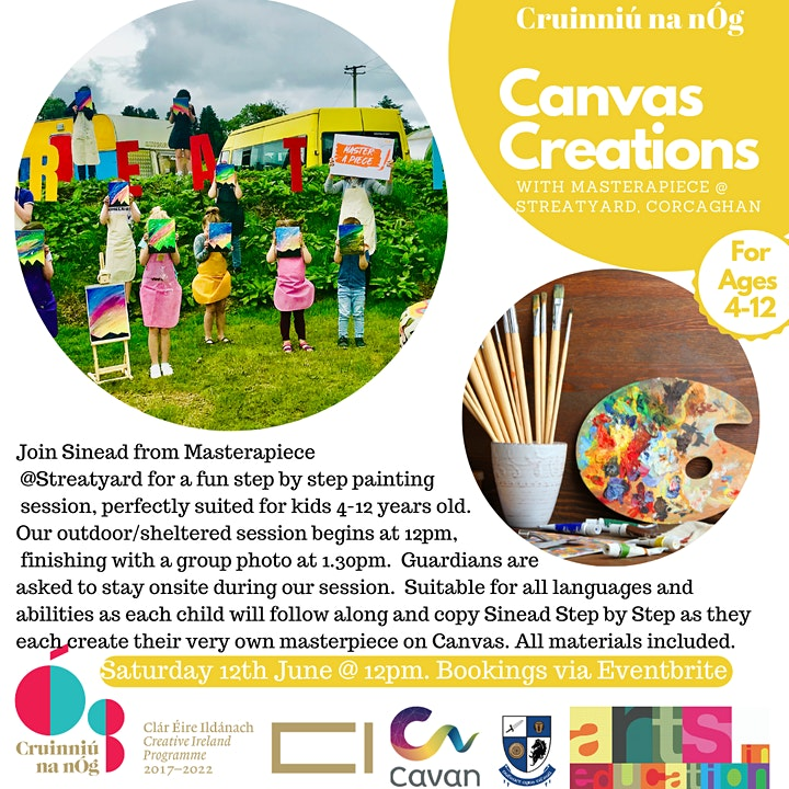 Canvas Creations  Workshop with Masterapiece image