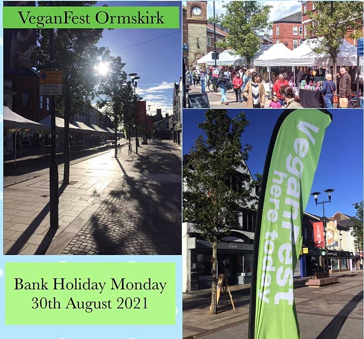 Ormskirk VeganFest Bank Holiday August 30th 2021 image