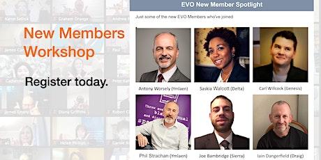 EVO New Members Workshop tickets
