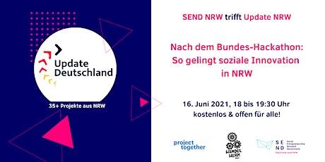 Update Deutschland: So gelingen soziale Innovationen in NRW Tickets