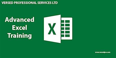 Training on Data analysis using Microsoft Excel tickets