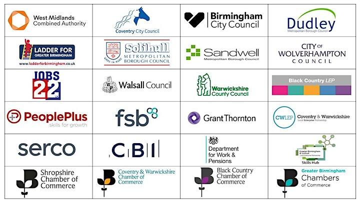 West Midlands Skills Recovery – Webinar image