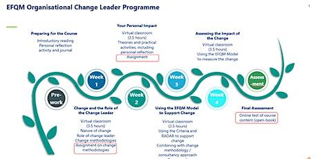 EFQM Organisational Change Leader Training tickets