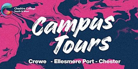 Campus Tours - Crewe tickets