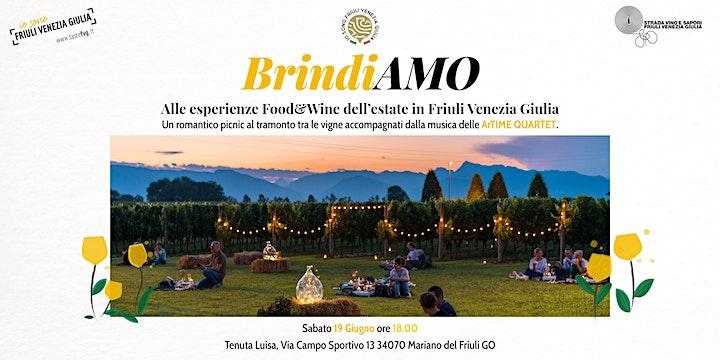 Immagine BRINDIAMO... alle esperienze Food & Wine dell'estate del FVG