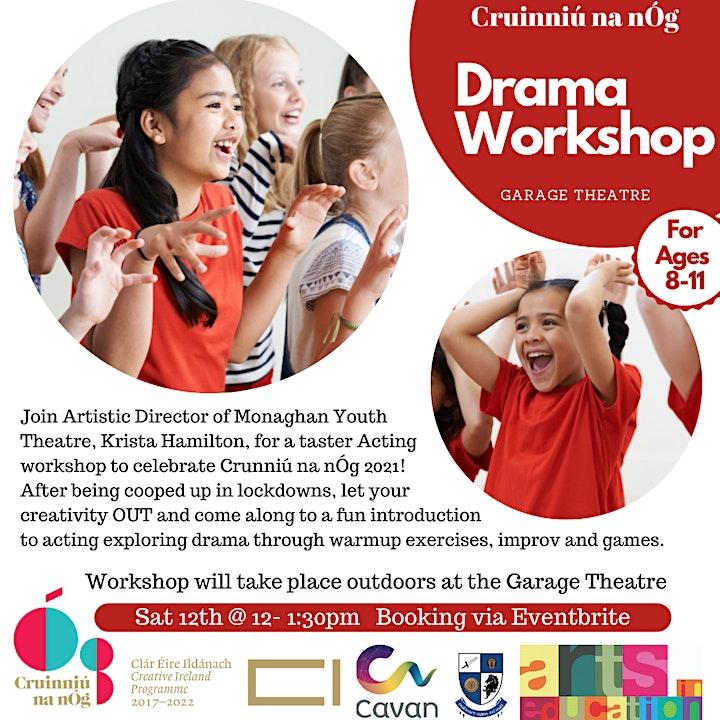 Taster Drama Workshop image